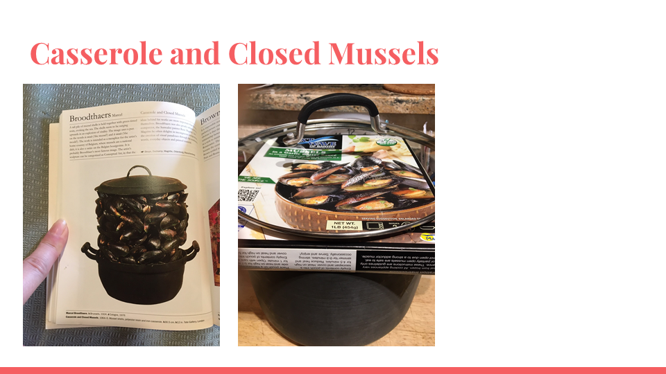 Casserole and Closed Mussels