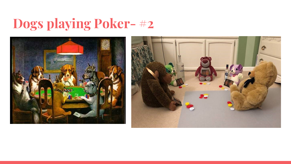 Dogs Playing Poker #2