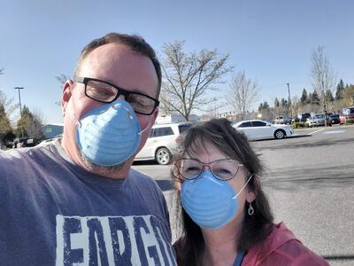 John Sauer and wife Laura_bright spot during quarantine