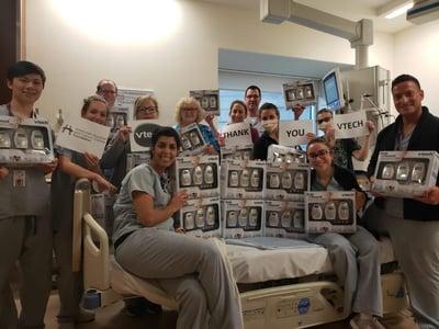 Nick Delany_bright spot_VTech donates baby monitors to hospitals in need during coronavirus