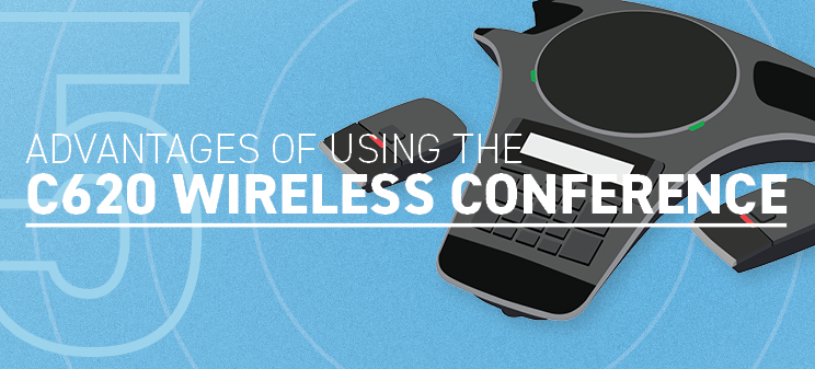 5 advantages of using Snom C620 wireless conference phone