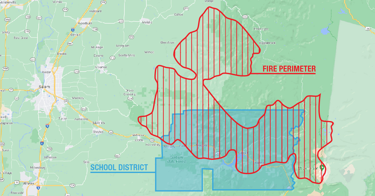 Santiam Canyon Fires Devastate Local School District and Community